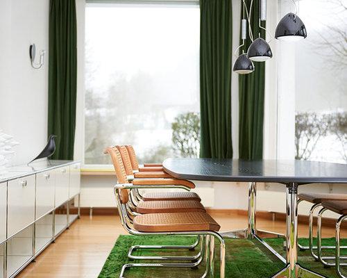 Klassische esszimmer mit hellem holzboden   ideen, bilder & design ...