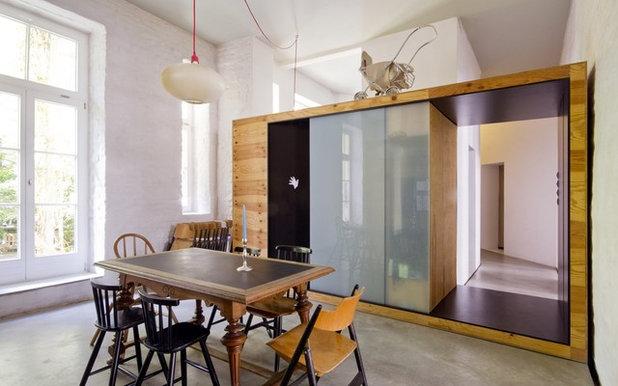 Contemporaneo Sala da Pranzo by studio lot Architektur | Innenarchitektur