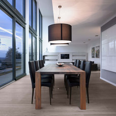 Contemporary Dining Room by Leicht Küchen AG
