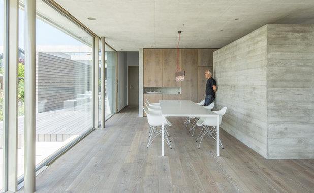 Moderno Comedor by Architekturbüro msm Schneck