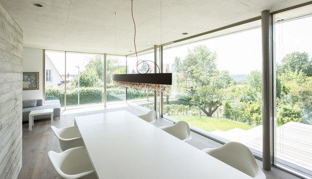 Contemporáneo Comedor by Architekturbüro msm Schneck