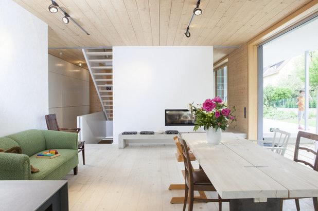 Modern Esszimmer by Echt Zwinz Raum und Möbel