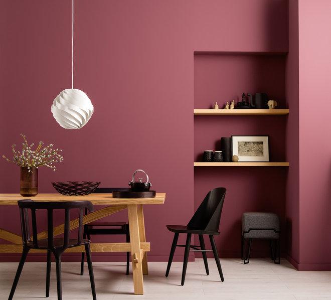 Contemporary Dining Room by SCHÖNER WOHNEN-FARBE