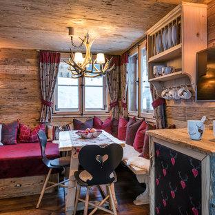 rustikale esszimmer frankfurt am main ideen design bilder houzz. Black Bedroom Furniture Sets. Home Design Ideas