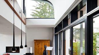 Traumhaus mit Nussbaum Furnier
