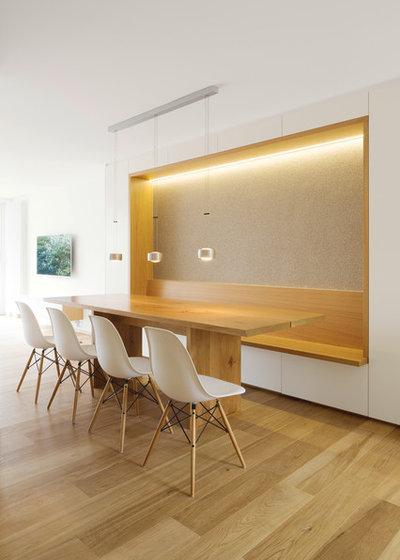 Aménager un coin banquette pour optimiser la salle à manger