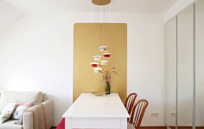 Idea to steal: Farbakzent statt ganze Wand streichen