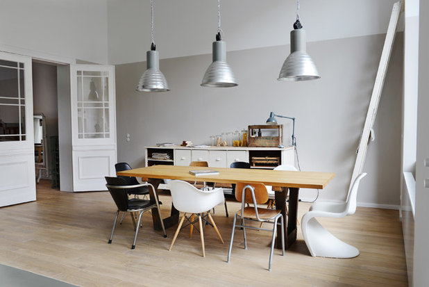 Scandinavian Dining Room by Studio Swen Burgheim