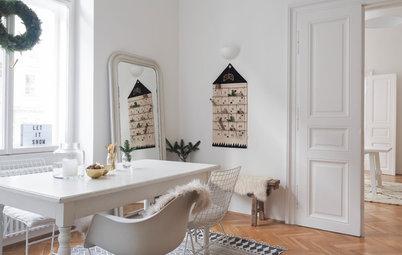 Visita privada: Oh, blanca Navidad… en un piso chic de Viena