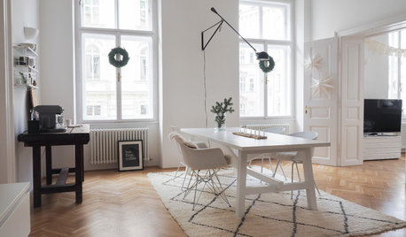 Viennese Houzz Tour: A Blogger's Simple Scandi Christmas