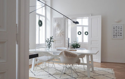 Houzz Tour: A White, Christmassy Home in Vienna