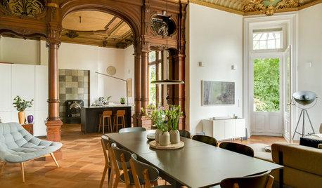 Antik trifft modern in historischer Villa aus dem 19. Jahrhundert