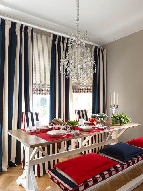 maritime esszimmer ideen bilder design houzz. Black Bedroom Furniture Sets. Home Design Ideas
