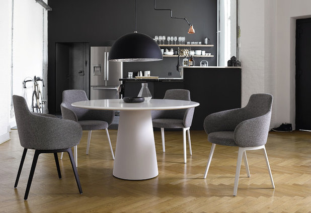 Contemporary Dining Room by livinglab