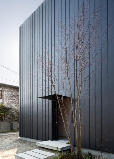 コンテンポラリー 家の外観 by mA-style architects