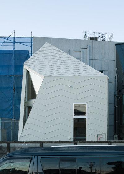 インダストリアル エクステリア (外観・外構) by YOSHINORI SAKANO ARCHITECTS Co,.Ltd.