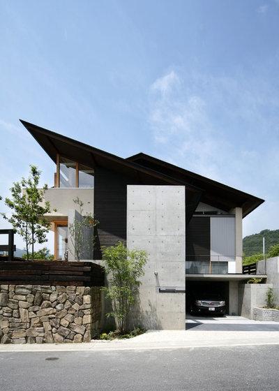 Contemporary Exterior by 株式会社 A-Studio 一級建築士事務所