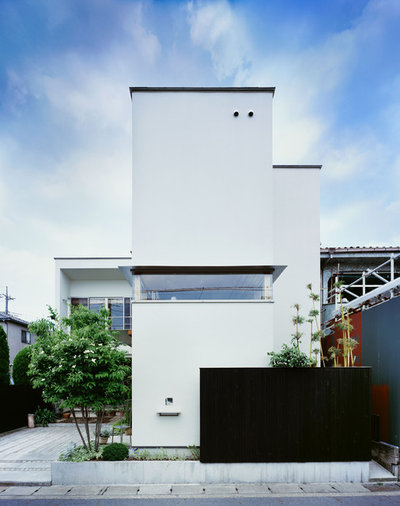 Moderne Hus & facade by アトリエ137 | atelier137 Architectural Design Office