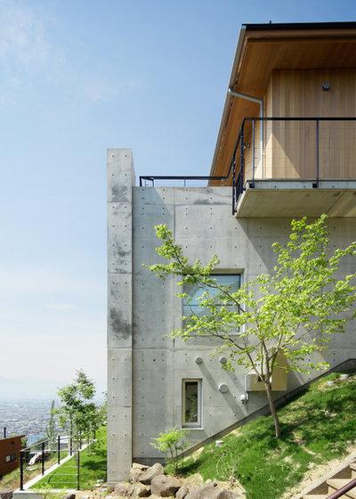 コンテンポラリー 家の外観 by アトリエ137 | atelier137 Architectural Design Office