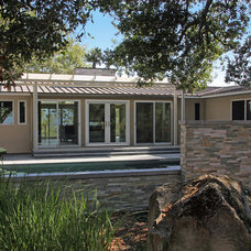 Traditional Exterior by Architect Andrew Morrall