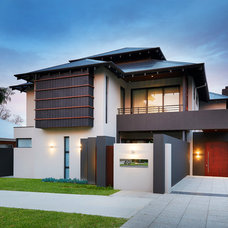 Asian Exterior by Yael K Designs