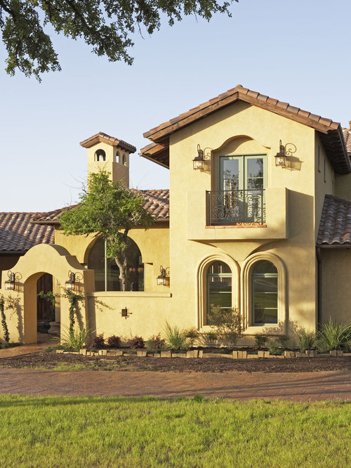 pale yellow stucco ideas pictures remodel and decor