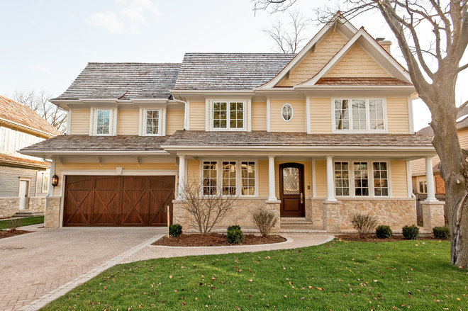 Traditional Exterior by Danko Group Corporation