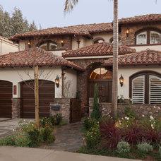 Mediterranean Exterior by Beach House Design & Development
