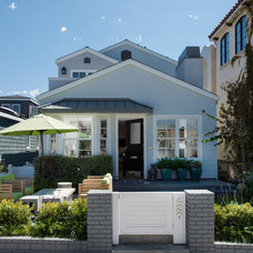 Traditional Exterior by Beach House Design & Development
