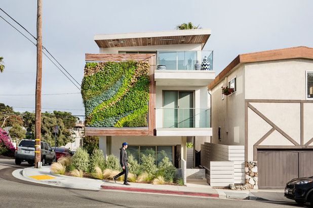 Contemporary Exterior by Habitat Horticulture
