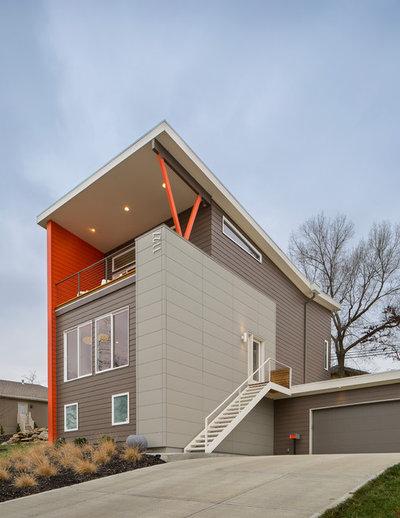 Contemporary Exterior by Studio Build