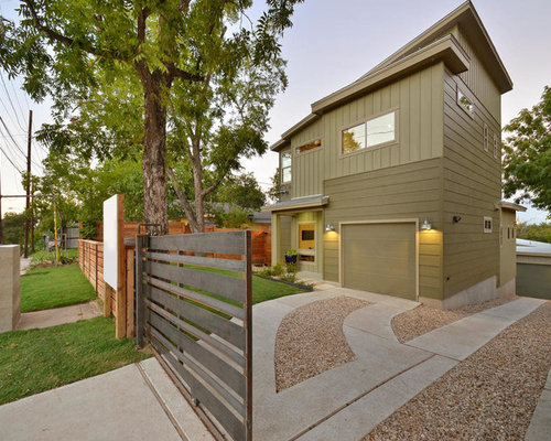 Houzz | Concrete And Gravel Driveway Design Ideas & Remodel Pictures