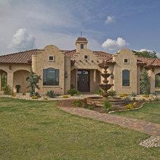 Mediterranean Exterior by Canyon Creek Homes, LP