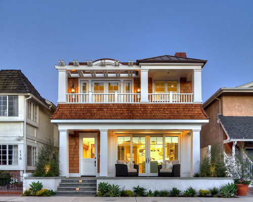 second floor balcony houzz On 2nd floor house front design