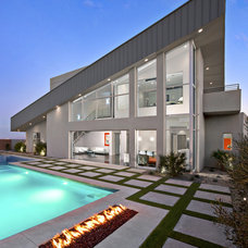 Contemporary Exterior by Walt Lawler Residential Designer