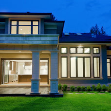 Traditional Exterior by Marble Construction