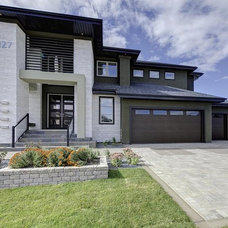 Contemporary Exterior by Gino's Homes