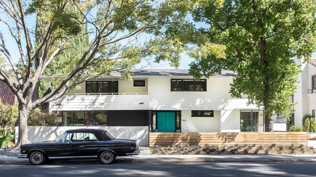 Midcentury Exterior by cpopp workshop