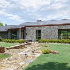 Contemporary Exterior by Van Trease Constructors