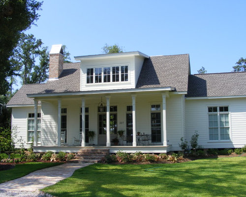 Acadian Style Home Houzz