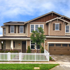 Traditional Exterior by MasterCraft Residential