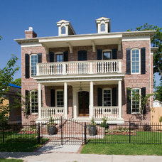 Traditional Exterior by Creole Design