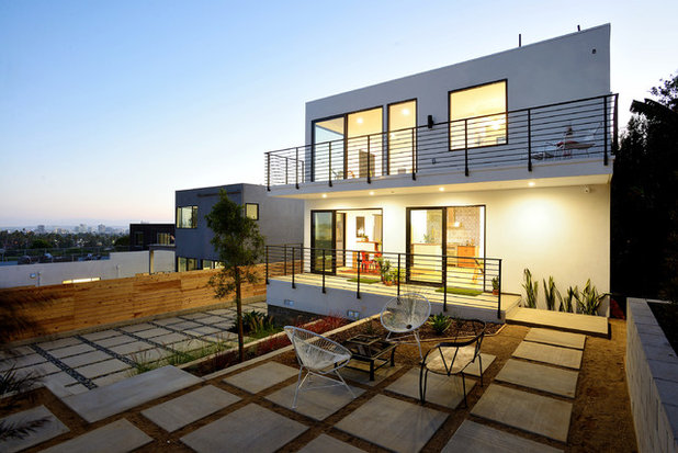 Contemporary Exterior by Carley Montgomery