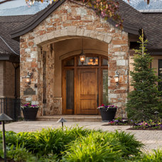 Traditional Exterior by Magleby Construction