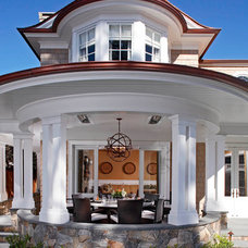 Traditional Exterior by William Guidero Planning and Design