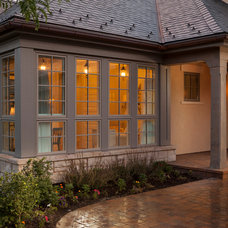Transitional Exterior by Magleby Construction