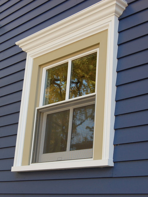 Exterior window trim home design ideas pictures remodel and decor for Exterior decorative trim for homes