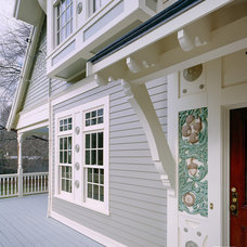 Traditional Exterior by Feinmann, Inc.