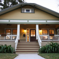 Traditional Exterior by Green Button Homes LLC