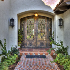 Mediterranean Exterior by Jay Andre Construction, Inc.